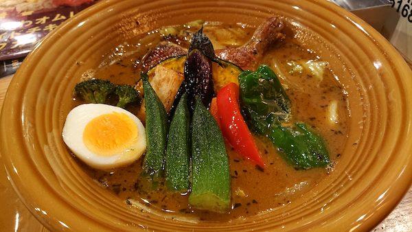 スープカレー具材-カレー&ごはんカフェouchi-すすきのへ行こう